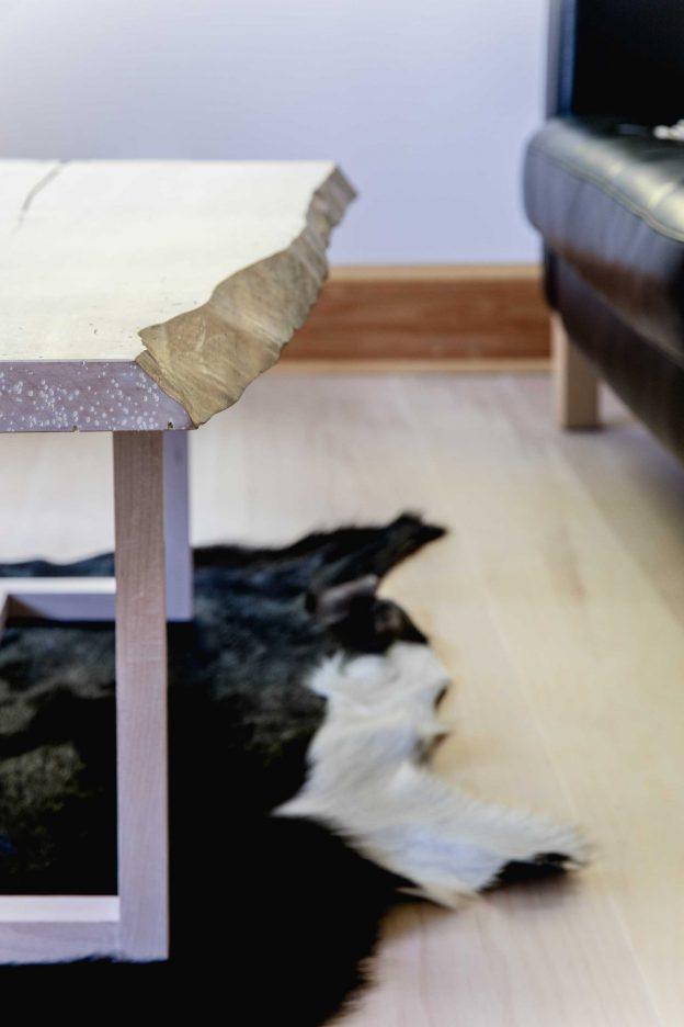 Studio89 Custom Furniture Live edge sugar maple coffee table