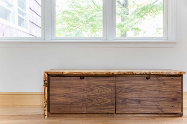 Studio89 Custom Furniture Design Live edge entry bench 5