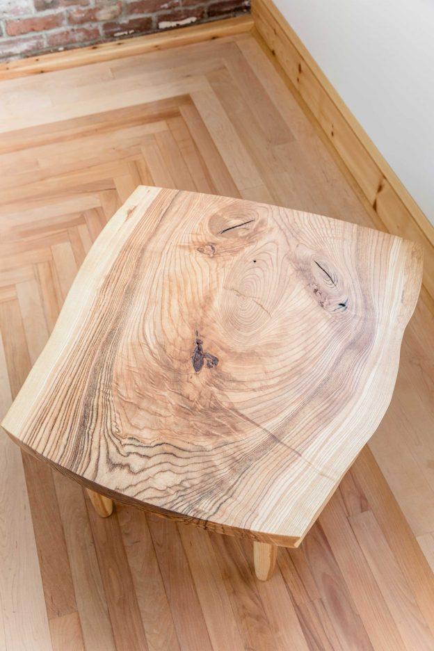 Studio89 Furniture design Spalted ash coffee table
